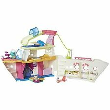 Littlest Pet Shop LPS Cruise Ship Playset Series 1 Hasbro 2016 Turtle Kitty