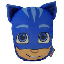 PJ MASKS CATBOY FILLED CUSHION WITH STORAGE POUCH BLUE CHILDRENS