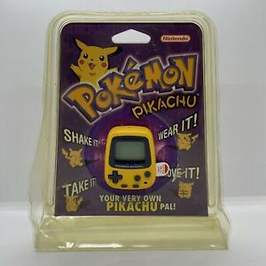 POKÉMON Pikachu Virtual Pet Official 1998 Nintendo/Game Freak *NEW*