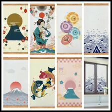 Japanese Frosted Window Film GlassSticker Door Stained Bathroom Retro Decor Home
