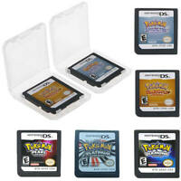 Pokemon HeartGold SoulSilver US Version Game Card for Nintendo 3DS NDSI NDS Lite