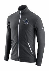 Dallas Cowboys Men's Nike Sideline DRI-FIT Touch Fleece Full Zip Sweatshirt