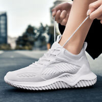 Sneakers Mens Trainers Shoes Running Breathable Athletic Casual Lightweight Size