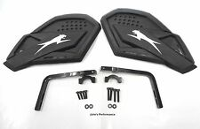 Arctic Cat ATV Black Aircat Hand Guards Wind Guards C Listing 4 Fitment 1436-375