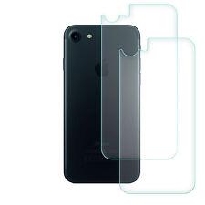 2x Pellicola In Vetro Temperato Per Iphone 7 Posteriore Protezione