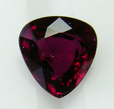 0.88ct!! NATURAL COLOUR RUBY -EXPERTLY FACETED IN GERMANY +APPRAISAL AVAILABLE