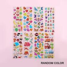 3D Cartoon Kids Bubble Stickers Classic Toys Sticker Reward C7L4 J9X0 C1A5 S5D5