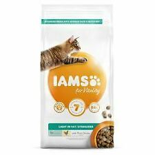 IAMS for Vitality Light in fat Sterilised Cat Food with Fres - 10kg - 492377