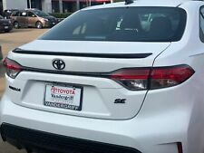 2020-2021 Toyota Corolla Painted Factory Style Rear Flush Mount Spoiler
