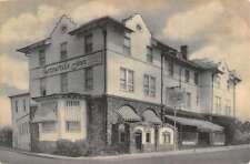 Bernardsville New Jersey Bernards Inn Street View Antique Postcard K16873