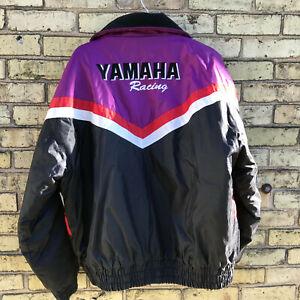 Yamaha Sportswear Racing Men's XL Snowmobile Jacket Coat 90s VMAX Vintage Mint