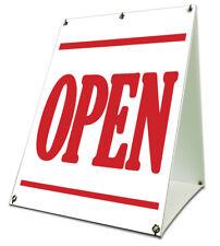 "Open Sidewalk A Frame 18""x24"" Outdoor Store Retail Sign"