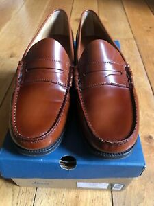 GH Bass Easy Weejuns Larson Mid Brown Penny Loafers UK 10.5 / EU 45