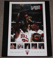 1997 Costacos Chicago Bulls NBA Finals  20x16 Poster | Micheal Jordan