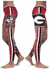 Georgia Bulldogs Small to 2X-Large Women's Leggings