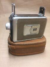 Vintage Kodak Brownie Movie Camera 8mm w/Cine Ektanon Lens F 2.7 with CaseVintag