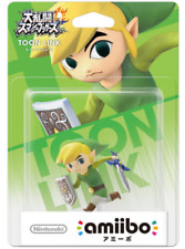 NEW Nintendo 3DS Wii U Amiibo TOON LINK  (Super Smash Bros. ) JAPAN  F/S