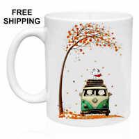 Snoopy, Autumn, Birthday, Christmas Gift, White Mug 11 oz, Coffee/Tea