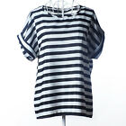 Women Summer Casual T Shirt Short Sleeve Loose Blouse Ladies Basic Top Plus Size