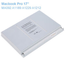 "New Battery for Apple MacBook Pro 17"" A1151 A1189 MA458 MA092 MA611 MA897 MB166"