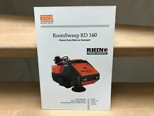 Roots Multiclean (India) self-propelled ride-on sweeper Kehrmaschine brochure
