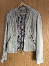 Women leather  jacket size 6