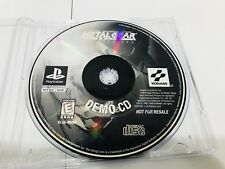 "Metal Gear Solid: VR Missions DEMO CD (Sony PlayStation 1) PS1 ""Very Rare"""
