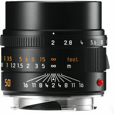 New Unused Leica APO-SUMMICRON-M 50mm F2 f/2 ASPH. Black 6-Bit M 240 M9 11141