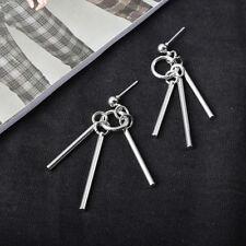 2pcs Kpop BTS Jimin Earrings Bangtan Boys Tassel Long Chain Earring Jewelry HOT