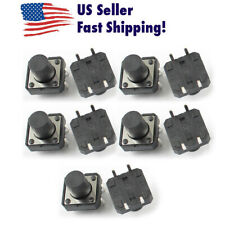 10Pcs Momentary Tactile Push Button Switch 4 Pin 12x12x10mm