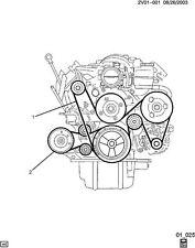 VE COMMODORE CALAIS SS HSV LS2 L76 L98 LS3 5.7L 6.0L 6.2L Main Drive Belt NEW GM