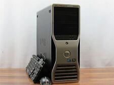 Dell Precision T5500 2x QC Xeon E5606 2.13GHz 24GB RAM 3x 600GB SAS 2x NVS 295