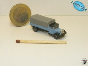 Mercedes LO2750  truck 1932 Z scale 1/220 Hand-painted Metal Model