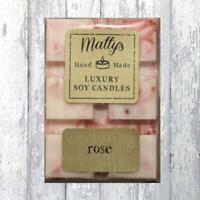 Matty's Candles® Soy Wax Melt Rose Scent Fragrance Bar Vegan Burner 75g