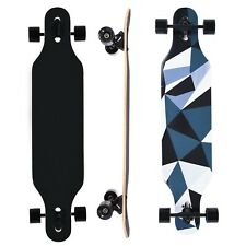 42in Maple Longboard Road Skateboard Drop Through Complete Skateboard US