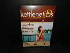 Kettlenetics Michelle Khai 4-Dvd Fitness Workout Set (no Kettles) B206/B145
