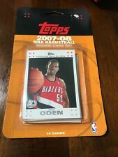 Topps NBA Basketball Rookie 14 Card Set - 2007-2008