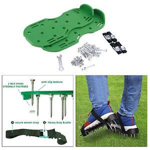 Garten Rasen Belüfter Schuhe Gehen Manuelle Rasen Nagel Sandalen mit Riemen