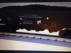 2011 MTH 30-75386 4-Bay Hopper Car - Pennsylvania Power & Light BRAND NEW IN BOX