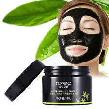 Bamboo Charcoal Deep Cleansing Blackhead Remover Peel Off Black Mud Face Mask