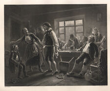 La taverna 1850 bulino Payne
