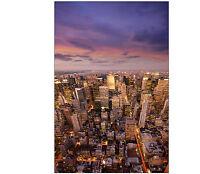Sticker frigo électroménager déco cuisine New york City 60x90cm réf 550