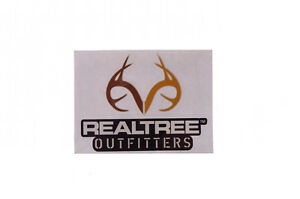 Realtree Outfitters Brown Car Truck Window Real Tree Decal Sticker Hunting NEW