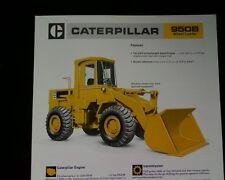 Caterpillar 950B Wheel Loader,  SALES BROCHURE