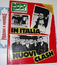 CIAO 2001 n 9 1984 cover IN ITALIA I CLASH