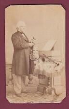 PHOTO ancienne - 211213 - musicien violon clarinette trompette