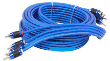 STINGER SI6417 RCA INTERCONNECT AUDIO CABLE 4 CHANNELS 17 FT 6000 SERIES STEREO