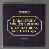 Barclay Crocker KABALEVSKY KHACHATURIN SUITES 7½ips REEL TO REEL TESTED Box 8.0