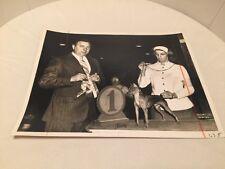 Vintage Dog Show Champion Winner Photo Miniature Doberman Pinscher Evelyn Shafer