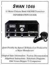 Swan 1046 / Palomar Skipper 71B Service & Restoration Manual